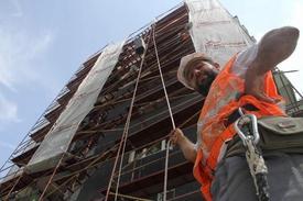 Bursa'da İş Güvenliği Almayan İnşaat Çalışanları Men Ediliyor