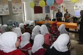"""Hayata Destek Derneği Tarafından, Ülkelerindeki İç Karışıklıktan Dolayı Kaçarak Ve Aileleri İle Birlikte Hatay'a Yerleşen Suriyeli Çocuklar İçin """"cumhuriyet Bayramında Bilim Şenliği"""" Düzenlendi."""