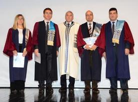"""Eskişehir Osmangazi Üniversitesi (esogü) Rektörlüğü'nün """"2013 Yılı Uluslararası Bilimsel Yayın Töreni"""", Esogü Kongre Ve Kültür Merkezi'nde Gerçekleşti."""