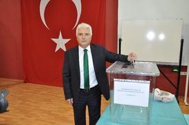 Balıkesir Üniversitesi(baü)'nde Yapılan Rektörlük Seçiminde Mahir Alkan 137 Oy Alarak Rakiplerini Geride Bıraktı.