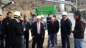 Aynı Zamanda Birlik Başkanı Olan Amasya Belediye Başkanı Cafer Özdemir, Tesisteki Deneme Üretimi Çalışmasını Takip Etti.