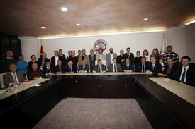 Turizm Sektöründe Büyük Potansiyele Sahip Olan Trabzon'da Sektörün Bütün Tarafları Kamu, Sivil Toplum Ve Özel Sektör Olmak Üzere Bir Araya Gelerek 2014 Yılını Değerlendirdi.