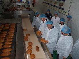 Müstakil Sanayici Ve İşadamları Derneği Yönetici Ve Üyeleri, Türkiye'nin Üçüncü, Bursa'nın İse En Büyük Ekmek Üretim Tesisi Besaş'ı Ziyaret Etti.