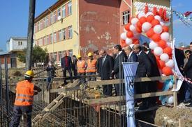 İmam Hatip Anadolu Lisesi Ek Binasının Temeli Törenle Atıldı.
