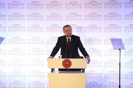 Cumhurbaşkanı Recep Tayyip Erdoğan, Bezmialem Vakıf Üniversitesi'nin 2014-2015 Akademik Yılı Açılış Töreninde Konuştu.