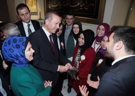 Cumhurbaşkanı Recep Tayyip Erdoğan, Bezmialem Vakıf Üniversitesi'nin 2014-2015 Akademik Yılı Açılış Törenine Katıldı.