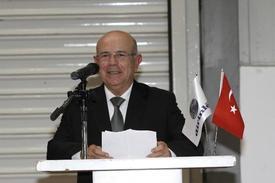 Dirinler Makina Yönetim Kurulu Başkanı Mustafa Dirin, \