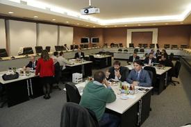 Eskişehir Sanayi Odası Ve İngiliz Ticaret Heyeti Üyesi Raylı Sistem Üreticileri, Bir Araya Geldikleri Eso Meclis Salonu'nda, Tüm Gün Süren Toplantıda Üreticilerin İşbirliği Ve Yeni Pazar Fırsatlarını Değerlendirdi.