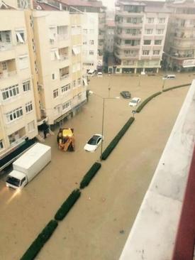 (arşiv) Manavgat'ta, 25 Ekim Cuma Gecesi Etkili Olan Yağışlar Sonucu Oluşan Sel Afetinin Bilançosu 57.966,921 Tl Olarak Açıklandı.