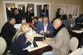 4-8 Kasım Tarihleri Arasında İzlenime Açık Kalacak Bursa İnegöl 32. Modef Expo Fuarı Kapsamında, Yurtdışında Gelen Alım Heyetleri, Fuar Alanında Sektör Temsilcileriyle Buluşturulmaya Başlandı.