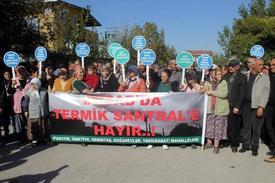 Bursa'da Demirtaş Organize Sanayi Bölgesinde Yapılmak İstenen Termik Santrale, Civardaki Mahalle Sakinlerinden Tepki Yağdı.