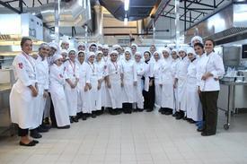 Bursa Uluslar Arası Aşçılık Ve Gastronomi Şampiyonası'na Katılan Öğrenciler
