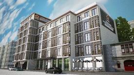 """Ağırlıklı Olarak Spor Takımlarını Misafir Etmek Üzere Tasarlanan Dosso Dossi Hotels Downtown Vatan Avenue, """"nitelikli Gayrimenkul Ödülü"""" Olarak Tanımlanan European Property Awards İle Onurlandırıldı. Tasarımı B Desing'e Ait Olan Otel, Henüz Misafir Kabul Etmeden Ödüle Layık Görülen Sayılı Otel Projeleri Arasında Yer Aldı."""
