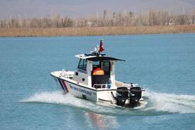 Konya'nın Beyşehir İlçesinde Jandarma Ekipleri Tarafından Bir Ay İçerisinde 'hayalet Ağ' Olarak Da Adlandırılan 7 Ton Ağırlığında, 15 Bin Metre Misina Balıkçı Ağı Ele Geçirildi.
