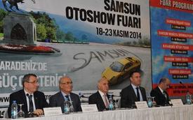 Samsun Oto Show Fuarı İle İlgili Samsun'da Tanıtım Toplantısı Düzenlendi.