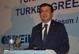 Türkiye-yunanistan İş Forumu'nda Konuşan Ekonomi Bakanı Nihat Zeybekci, Türkiye'nin Gümrük Birliği Anlaşması'nı Devam Ettirmemesi Durumunda Yunanistan'ın Zarar Göreceğini Belirtti.