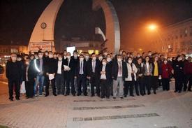 """Türk Büro-sen Elbistan Temsilciliği Tarafından Elbistan'daki Hava Kirliliğine Dikkat Çekmek Amacıyla Başlatılan """"temiz Bir Nefes Temiz Bir Hava İçin Zoraki Maske"""" Kampanyası Kapsamında Vatandaşlara Maske Dağıtıldı."""