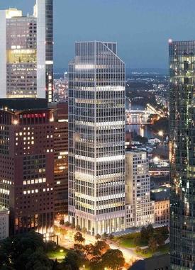 New York'un Simge Binalarından Rockefeller Center Ve Chrysler Building'in Sahibi, Almanya'da Yaptığı Yeni Gökdelende Türk Doğal Taşı Kullandı.