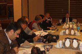 Dicle Kalkınma Ajansı Genel Sekreteri Dr. Tabip Gülbay, Mardin'de Görev Yapan Yerel Ve Ulusal Basın Temsilcileriyle Bir Araya Gelerek Mardin, Batman, Şırnak Ve Siirt İllerini Kapsayan Trc3 Bölgesi'ndeki Teşvik Sonuçlarını Açıkladı.