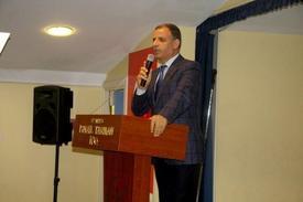 İstanbul İl Milli Eğitim Müdürü Dr. Muammer Yıldız, Konuşma Yaptı.
