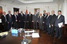 Gıda Tarım Ve Hayvancılık Bakanı Mehdi Eker, Türkiye Ziraat Odalar Birliği (tzob) Genel Başkanı Şemsi Bayraktar Ve Beraberindeki Heyeti Kabul Etti.