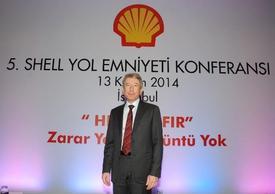 Shell Türkiye Ülke Başkanı Ahmet Erdem...