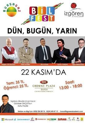 Bilfest Buluşması Bursagaz'ın Ana Sponsorluğunda 22 Kasım'da Bursa'da Gerçekleştirilecek.