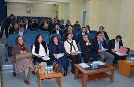 Çanakkale Onsekiz Mart Üniversitesi Senato Toplantısı Yenice Meslek Yüksekokulu'nda Gerçekleştirildi.