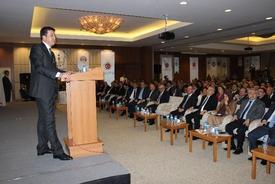 """Ekonomi Bakanı Nihat Zeybekci, """"türkiye Son 12 Yılda Ortalama Yüzde 5.1 Oranında Büyüdü. Bu Büyümeyle De Çok Dikkat Çektik. Büyümeyle, İhracatı Artırmamızla Önemli Yerlere Geldik. Büyüme Hızı Anlamında Dünyada İlk 3'teyiz"""" Dedi."""