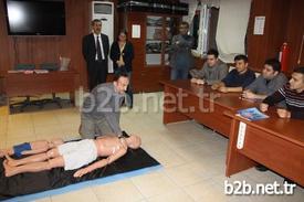 2011 Yılından Beri Bünyesindeki 'temel İlk Yardım Eğitim Merkezi'yle İnegöllülere Hizmet Veren Salih İbrahim Kırcalı Mesleki Ve Teknik Anadolu Lisesinde (sağlık Meslek Lisesi) 100'ncü İlk Yardım Kursu Başarıyla Tamamlandı.