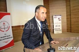 Ayvalık İlçe Milli Eğitim Müdürü Erkan Bilen, \
