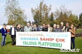 Yalova Platformu Dörtyol Kavşağında Yapılacak Olan Köprülü Kavşak Projesinin 200'den Fazla Ağacın Katliamına Neden Olacağını Gerekçe Göstererek Dörtyol Kavşağında Bir Protesto Eylemi Ve Basın Açıklaması Gerçekleştirdi.