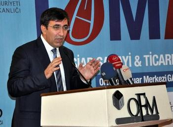 """Tümexpo 2. Sanayi Ve Ticaret Fuarı Açılışında Konuşan Kalkınma Bakanı Cevdet Yılmaz, """"türkiye, Avrasya'nın Üretim Üssü Olmayı Hedefliyor"""" Dedi."""