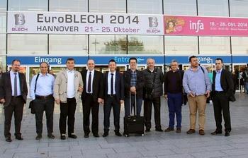 Bursa Ticaret Ve Sanayi Odası (btso) Üyeleri, Küresel Fuar Acentesi Projesi Kapsamında Almanya'da Düzenlenen Euroblech Fuarı'na Katıldı.