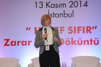 Shell Global Yol Emniyeti Genel Müdürü Linda Philips...