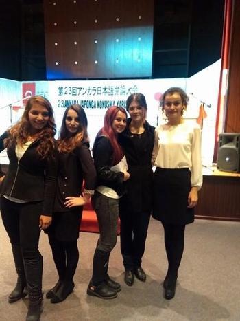 Çanakkale Onsekiz Mart Üniversitesi (çomü) Japon Dili Eğitimi Ana Bilim Dalı Öğrencileri, Japonca Konuşma Yarışmasından Dereceyle Döndüler.