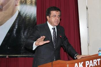 Ekonomi Bakanı Nihat Zeybekci, 2015 Seçimlerinde Anayasayı Tek Başına Değiştirecek Çoğunluğu Elde Etmelerinin Şart Olduğunu Söyledi.